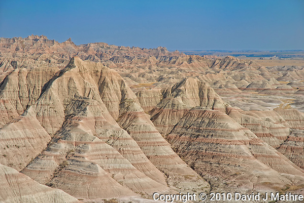 The Real Badlands National Park. Image taken with a Nikon D200 camera and 18-70 mm kit image (ISO 100, 18 mm, f/5.6, 1/640 sec). (David J Mathre)