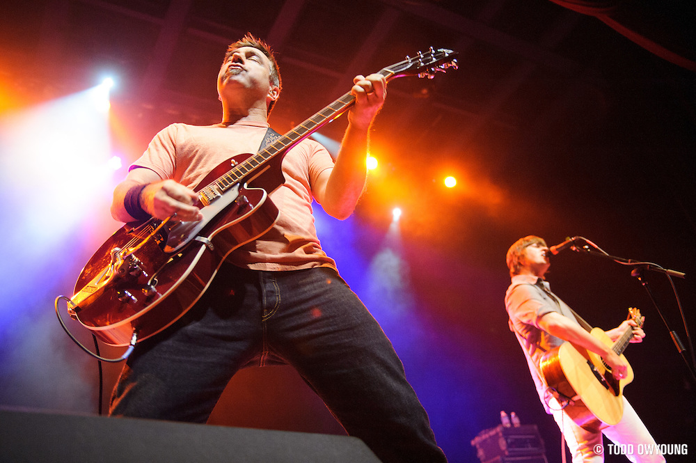 Old 97s performing at The Pageant in St. Louis, Missouri on January 31, 2012. (Todd Owyoung)
