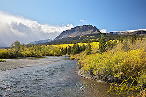 St. Marys River, fall colors, Glacier National Park (Daryl Hunter's &quot;The Hole Picture&quot;  Daryl L. Hunter has been photographing the Yellowstone Region since 1987, when he packed up his view camera, Pentex 6X7, and his 35mms and headed to Jackson Hole Wyoming. Besides selling photography Daryl also publ)