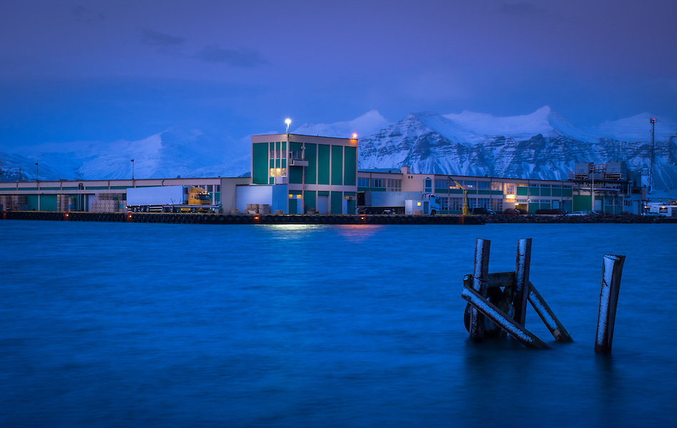 HOFN, ICELAND - CIRCA MARCH 2015: Port of Hofn in Iceland. (Daniel Korzeniewski)