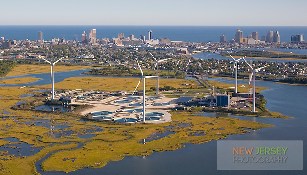 Jersey Atlantic Wind Farm and Waste Water Treatment Plant, Atlantic City, New Jersey (Steve Greer)