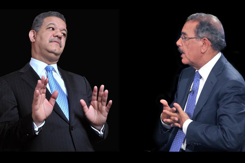 Leonel Fernández y Danilo Medina