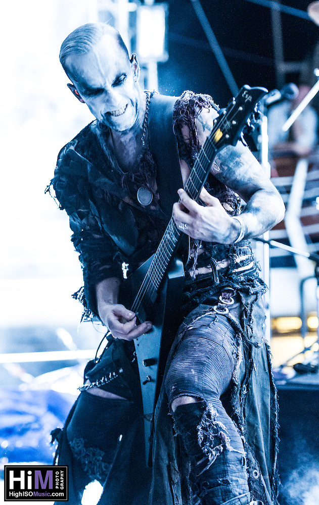 Behemoth on the 2012 Barge to Hell. (© HIGH ISO Music, LLC)