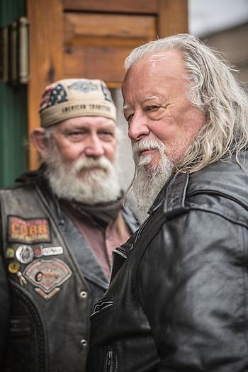 Don Sonney and John Locke in Jerome, AZ  donsonney@yahoo.com (© Clark James Mishler)