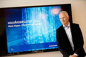 CEO & Group President Grundfoss Mads Nipper (Fotografhuset/Brian Rasmussen)
