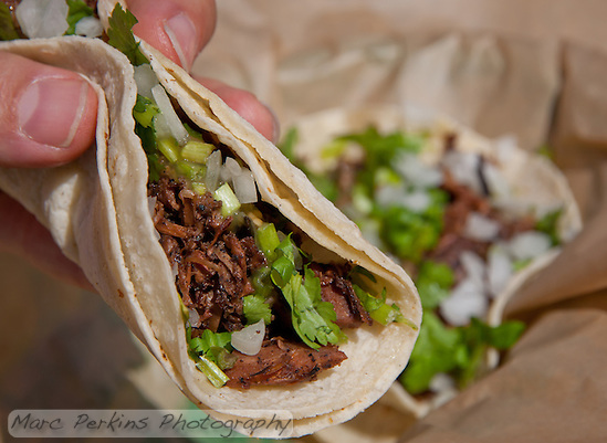 You know you want to try some of Seabrids's Jerk Jackfruit Tacos :) (Marc C. Perkins)
