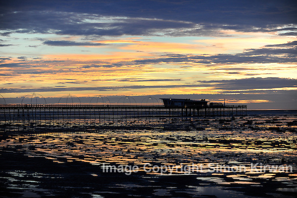 Southport Pier Sunset - Photography By Simon Kirwan