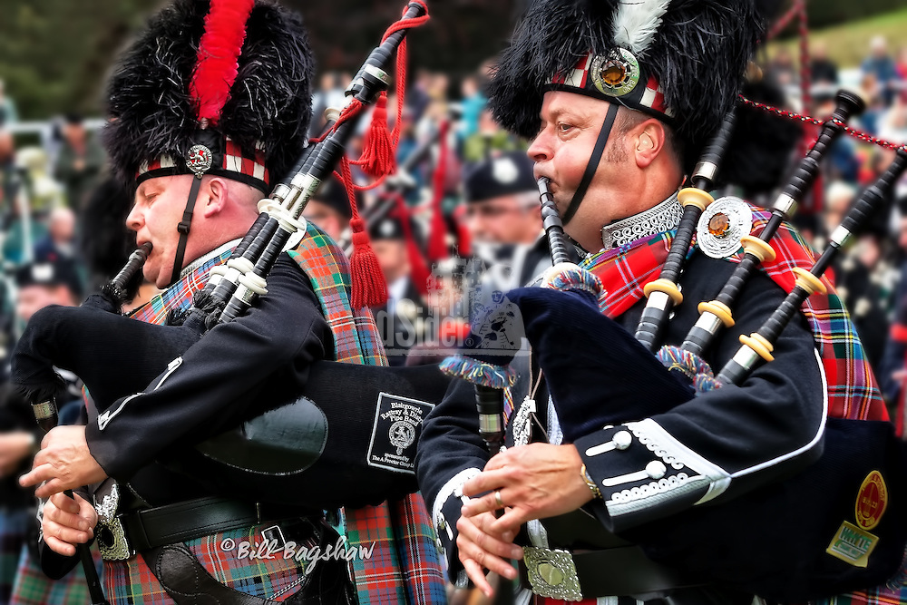 Pipers Braemar Gathering (Bill Bagshaw/M.Williams/COPYRIGHT)