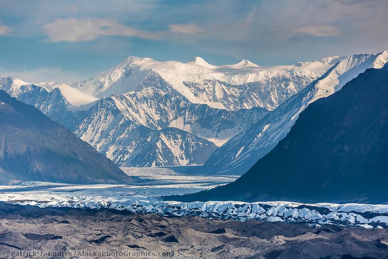 Alaska glacier photos: Chugach mountains, southcentral, Alaska. (Patrick J Endres / AlaskaPhotoGraphics.com)