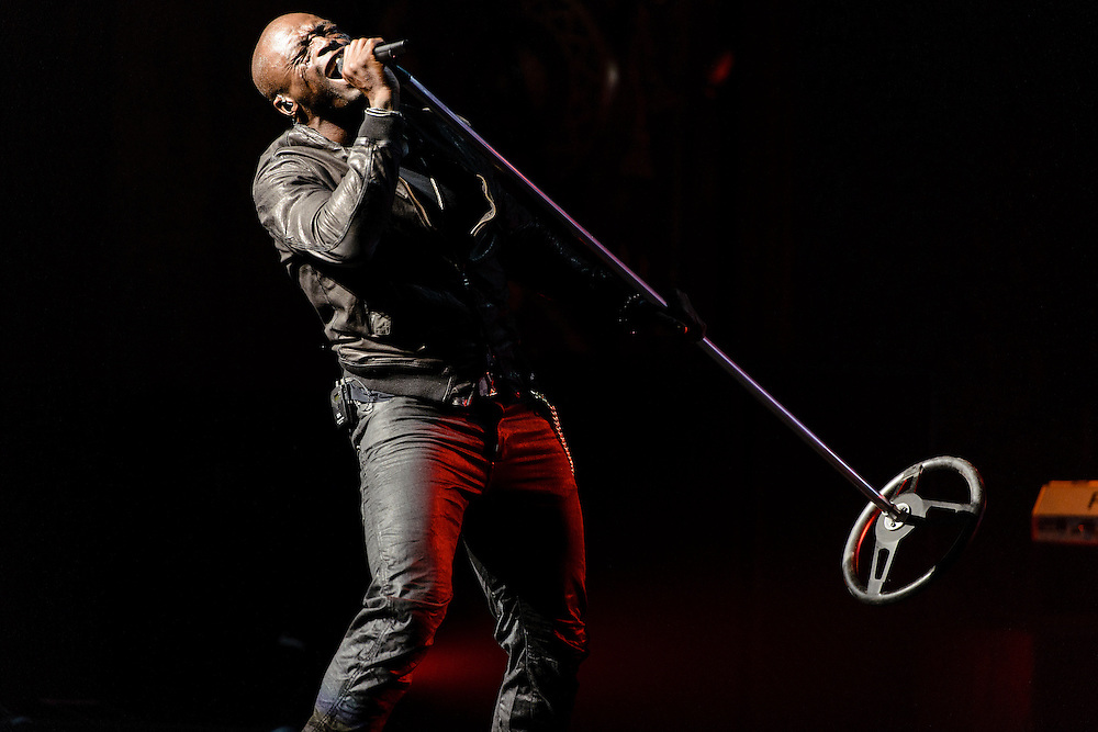 Photos of British musician Seal performing at Beacon Theatre, NYC. July 17, 2012. Copyright © 2012 Matthew Eisman. All Rights Reserved. (Photo by Matthew Eisman/ FilmMagic)
