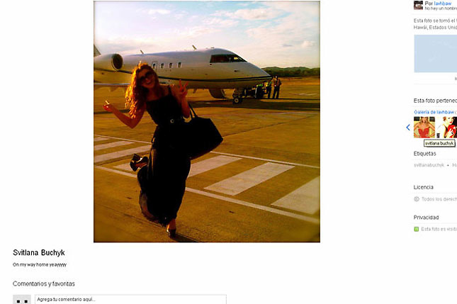 Extraña azafata: Surge foto de la mujer misteriosa del caso Melgen-Menéndez