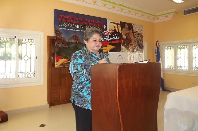 Ana María Pérez, Coordinadora de Proyectos Gestión de Riesgo PNUD