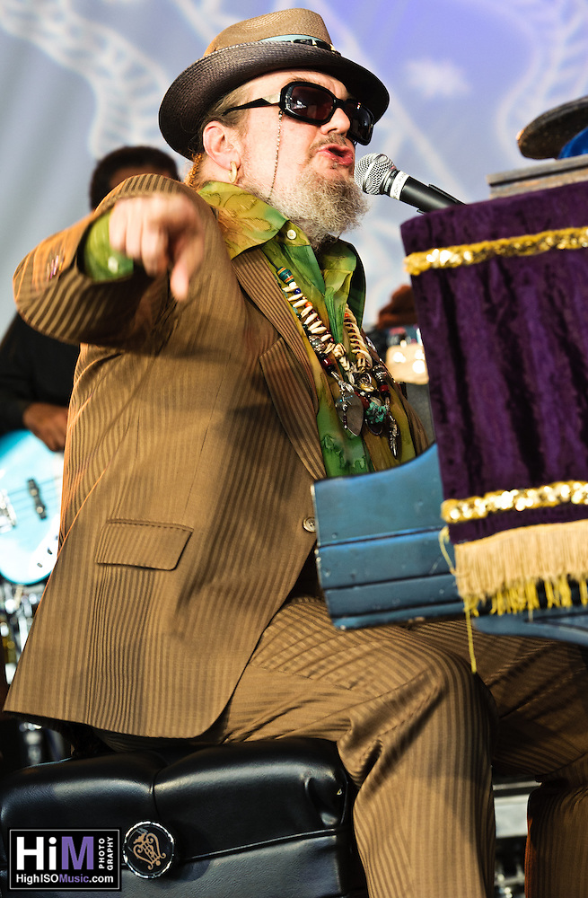 Dr. John at the 2011 Voodoo Festival in New Orleans, LA. (Golden G. Richard III)