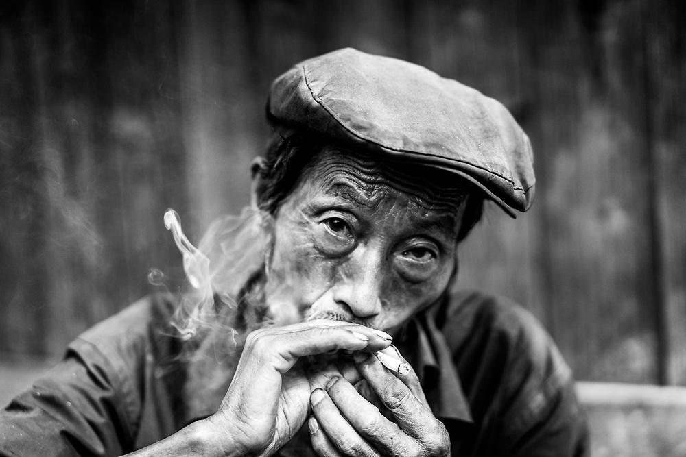 Smoke 'em if you got 'em! Near Mu Cang Chai, Yen Bai Province (Quinn Ryan Mattingly)