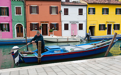 Burano Venice  Colours and lights of Burano...HOW TO LICENCE THIS PICTURE: please contact us via e-mail at sales@xianpix.com or call our offices in Milan at (+39) 02 400 47313 or London   +44 (0)207 1939846 for prices and terms of copyright. First Use Only ,Editorial Use Only, All repros payable, No Archiving.© MARCO SECCHI (Marco Secchi)
