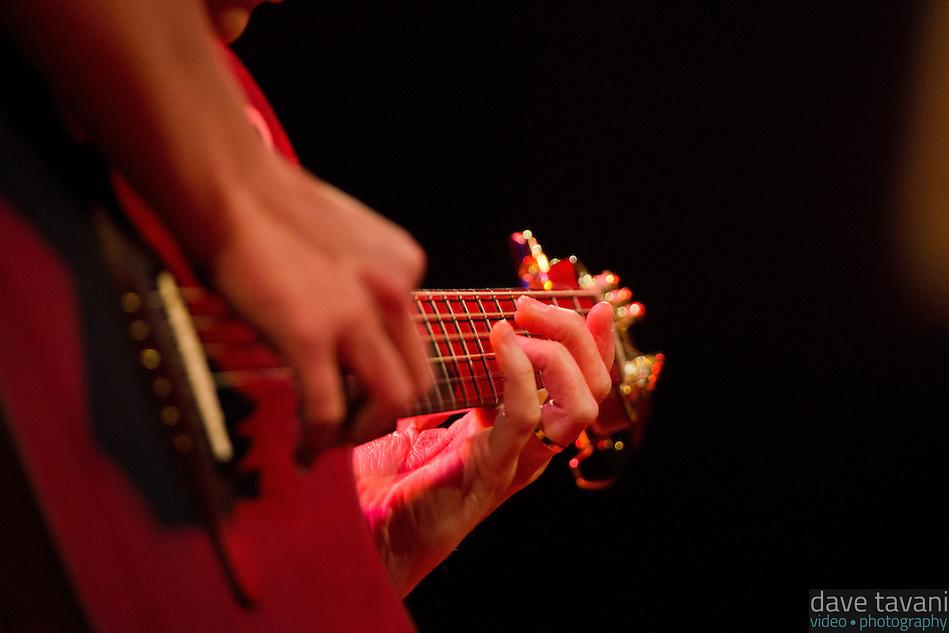 Kaki King performs at World Cafe Live. (Dave Tavani)