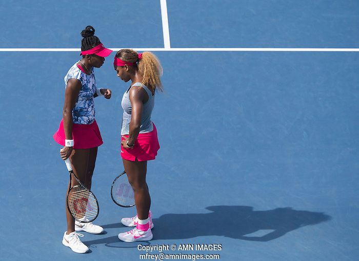 SERENA WILLIAMS (USA), VENUS WILLIAMS (USA) The US Open Tennis Championships 2014 - USTA Billie Jean King National Tennis Centre -  Flushing - New York - USA -   ATP - ITF -WTA  2014  - Grand Slam - USA  31ST August 2014.  © AMN IMAGES (FREY/FREY-AMN IMAGES)