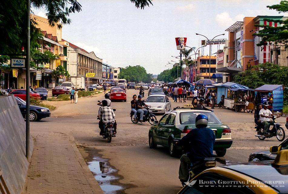 Indonesia, Riau, Batam. Nagoya, traditionally the center of Batam. (Photo Bjorn Grotting)