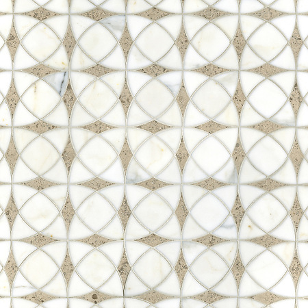 Zazen Stone Mosaic from the Miraflores Collection by Paul Schatz for New Ravenna Mosaics