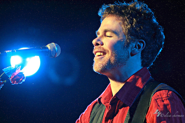 Josh Ritter &amp; the Royal City Band perform on February 22nd, 2010 at the Showbox Sodo  in Seattle, Washington (Elisa Sherman)