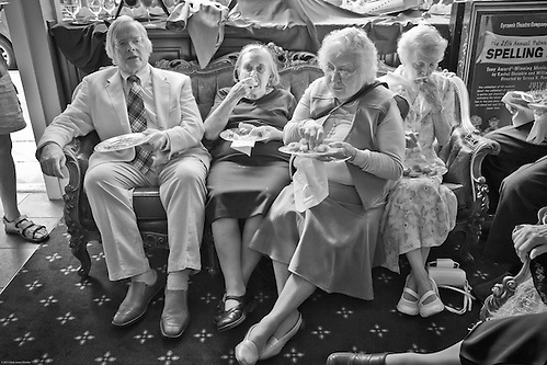 Gene and Muriel Furman's wedding day, Anchorage (Clark James Mishler)
