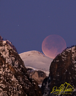 Moon Eclipse over Death Canyon in Grand Teton National Park (© Daryl L. Hunter - The Hole Picture/Daryl L. Hunter)