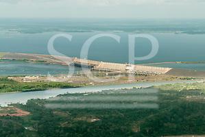 Tucurui, Para State. Tucurui reservoir and hydroelectric dam. (Sue Cunningham/SCP)