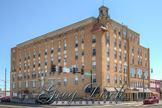 The Will Rogers Hotel located on Will Rogers BLVD in Claremore Oklahoma on Route 66. (Greg Disch)