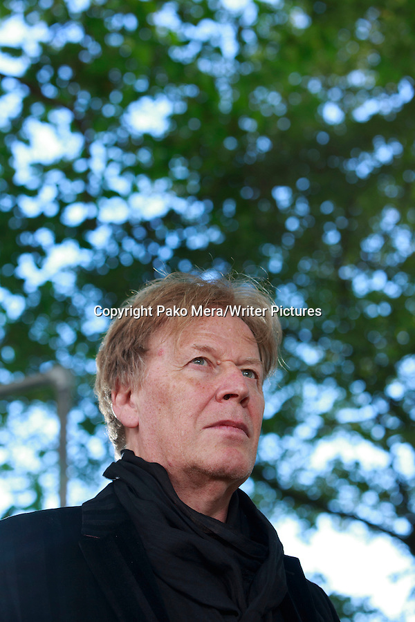 Pat Mills at Edinburgh International Book Festival 2014. 23rd August 2014 Picture by Pako Mera/Writer Pictures WORLD RIGHTS (Pako Mera/Writer Pictures)