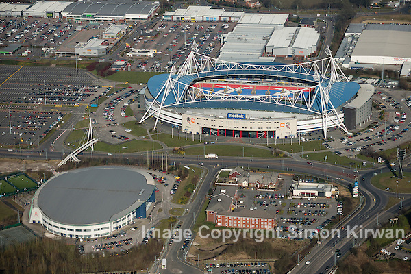 Reebok Stadium & Bolton Arena Aerial Photography By Simon Kirwan www.the-lightbox.com