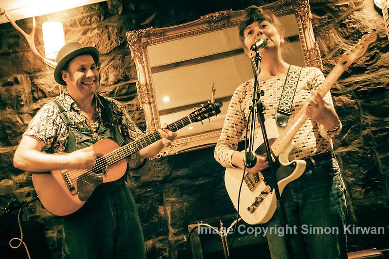 Martin Stephenson & Helen McCookerybook, Argyll Hotel, Ullapool - Photo By Simon Kirwan