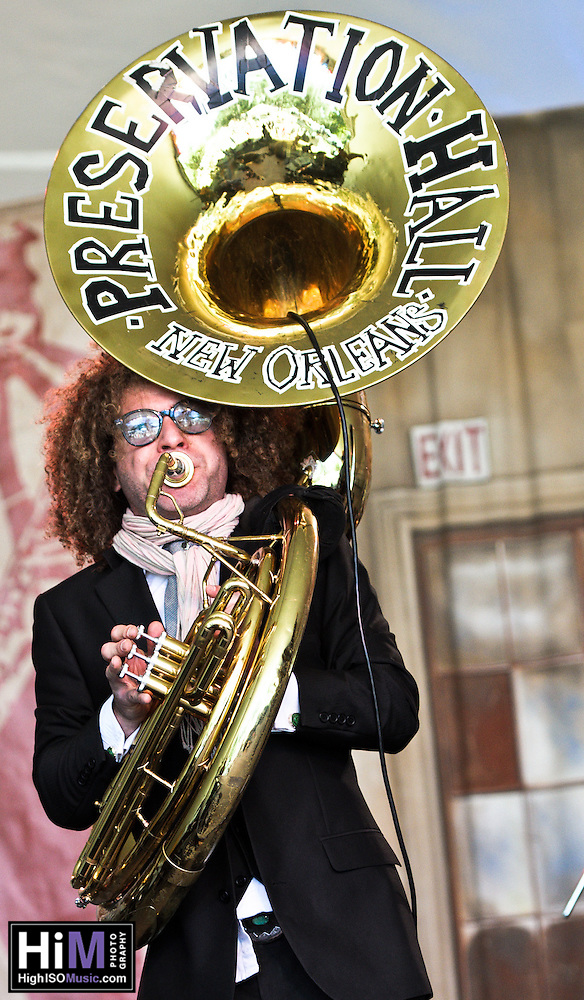 Tao Seeger Brass Band at Voodoo Fest 2011 in New Orleans, LA. (Golden G. Richard III)