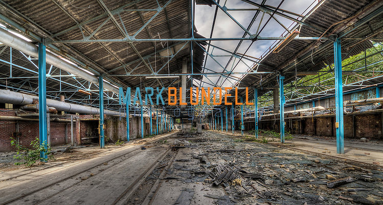 Abandoned factory in Sheffield, UK (Mark Blundell)