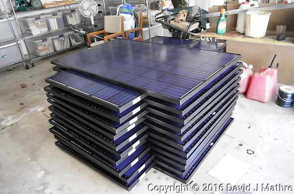 Solar Panel Installation. Leica T camera and 18-56 mm lens (David J Mathre)