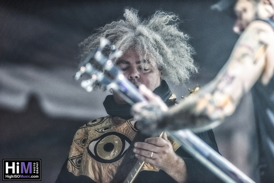 The Melvins perform at the 2014 Voodoo Music Experience in New Orleans, LA. (HIGH ISO Music, LLC)