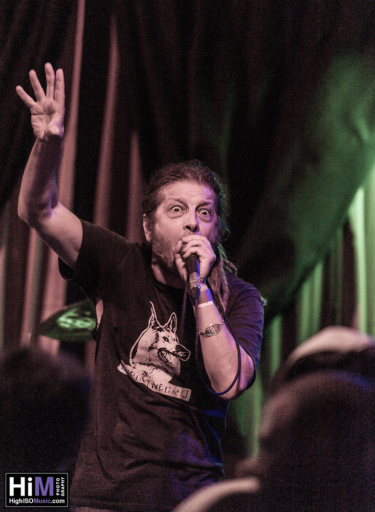 Keith Morris and OFF! perform at Siberia in New Orleans, LA on 8/11/2014. (HIGH ISO Music, LLC)