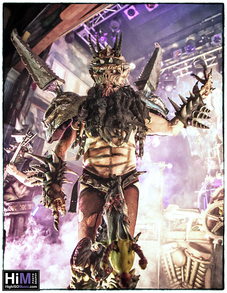 Gwar at House of Blues in 2013. (Elsa Hahne)