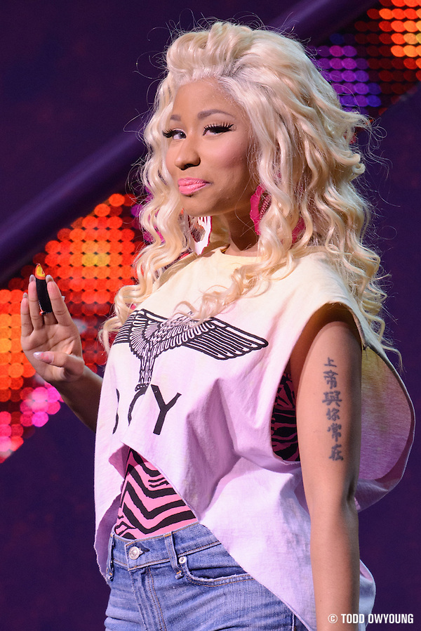 Photos of Nicki Minaj performing on the Pink Friday Tour at the Peabody Opera House on July 31, 2012. (Todd Owyoung)