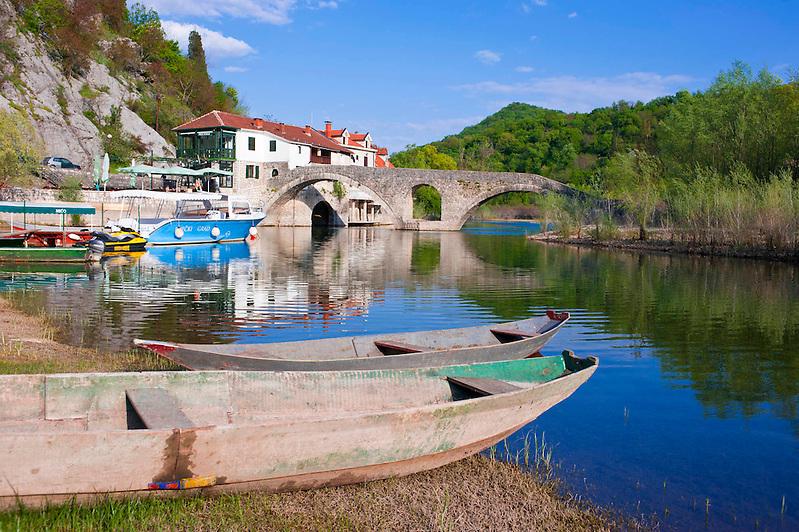Rijeka Crnojevica,Montenegro, Balkan*Rijeka Crnojevica, Montenegro, Balkans (Michael Runkel)