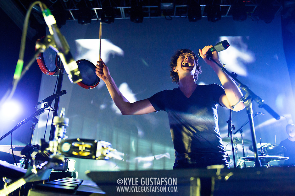 "WASHINGTON, DC - March 23rd, 2012 - Belgian-Australian multi-instrumental musician and singer-songwriter Gotye performs at the 9:30 Club in Washington, D.C. His single ""Somebody That I Used to Know""(featuring Kimbra) has reached number one in nine countries and is top 5 in the Billboard Hot 100. (Photo by Kyle Gustafson/For The Washington Post) (Kyle Gustafson/FTWP)"