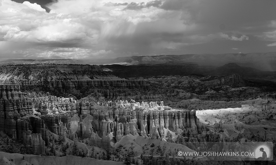 Bryce Canyon during storms, shot in infrared (Josh Hawkins)