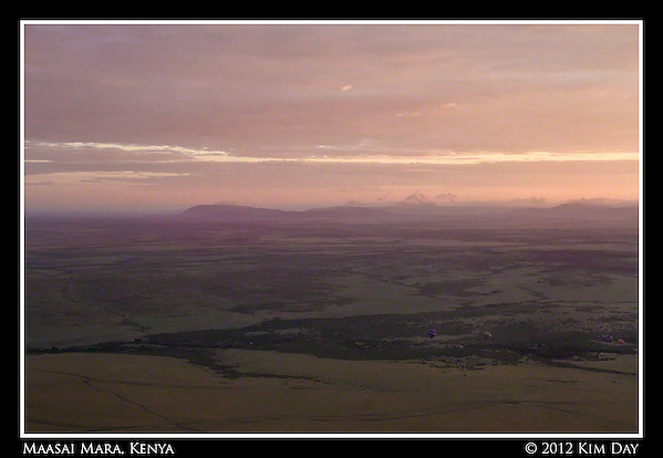 Dawn Breaking Over The Mara.Maasai Mara, Kenya.September 2012 (Kim Day)