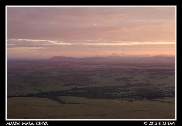 Dawn Breaking Over The Mara.Maasai Mara, Kenya.September 2012 (Kim Day)