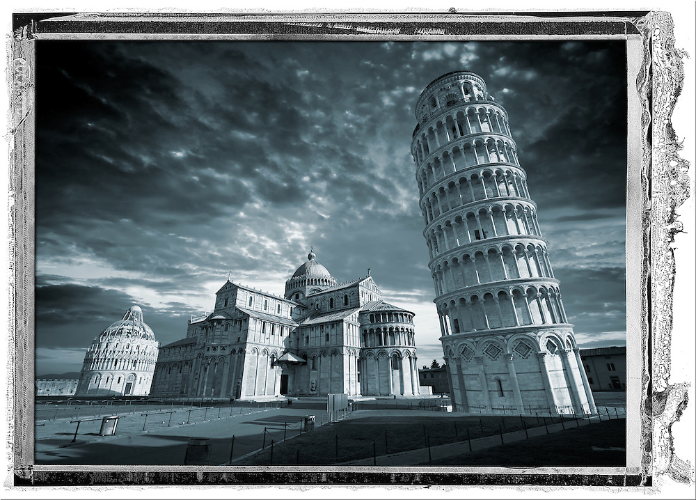 The Duomo & Leaning Tower of Pisa, Italy (Paul E Williams)