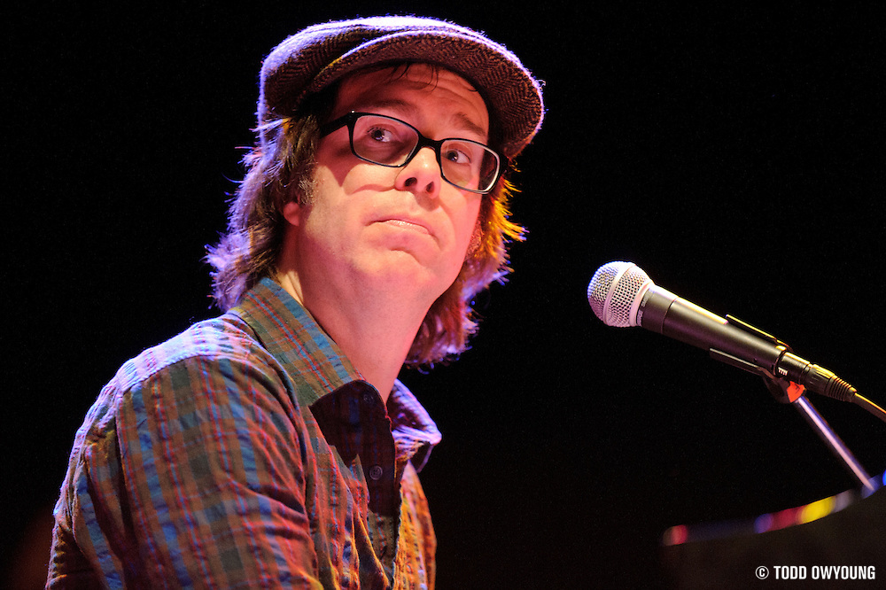 Photos of Ben Folds performing at the Pageant in St. Louis on January 30, 2011 (TODD OWYOUNG)