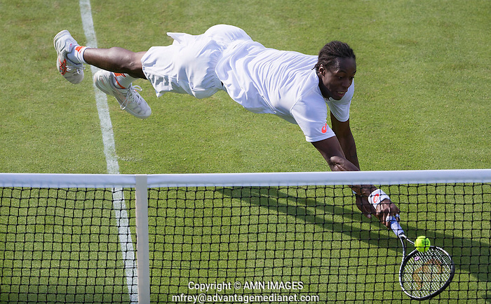 GAEL MONFILS (FRA) The Championships Wimbledon 2014 - The All England Lawn Tennis Club -  London - UK -  ATP - ITF - WTA-2014  - Grand Slam - Great Britain -  24th June 2014.  © AMN IMAGES (FREY/FREY- AMN Images)