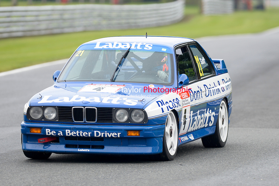 #21 Max Goff - BMW M3 during HSCC Super Touring Car Championship qualifying at Oulton Park, Little Budworth, Cheshire, United Kingdom. June 07 2014. World Copyright Peter Taylor/PSP. Copy of publication required for printed pictures. Every used picture is fee-liable. http://archive.petertaylor-photographic.co.uk (Peter Taylor/PSP)