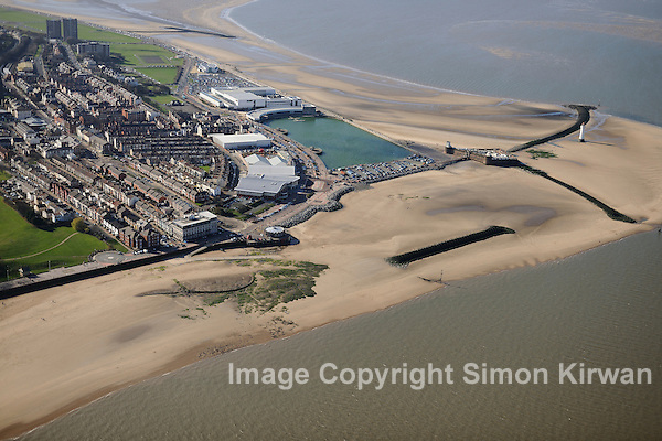 Wallasey from the Air - aerial photography by Simon Kirwan