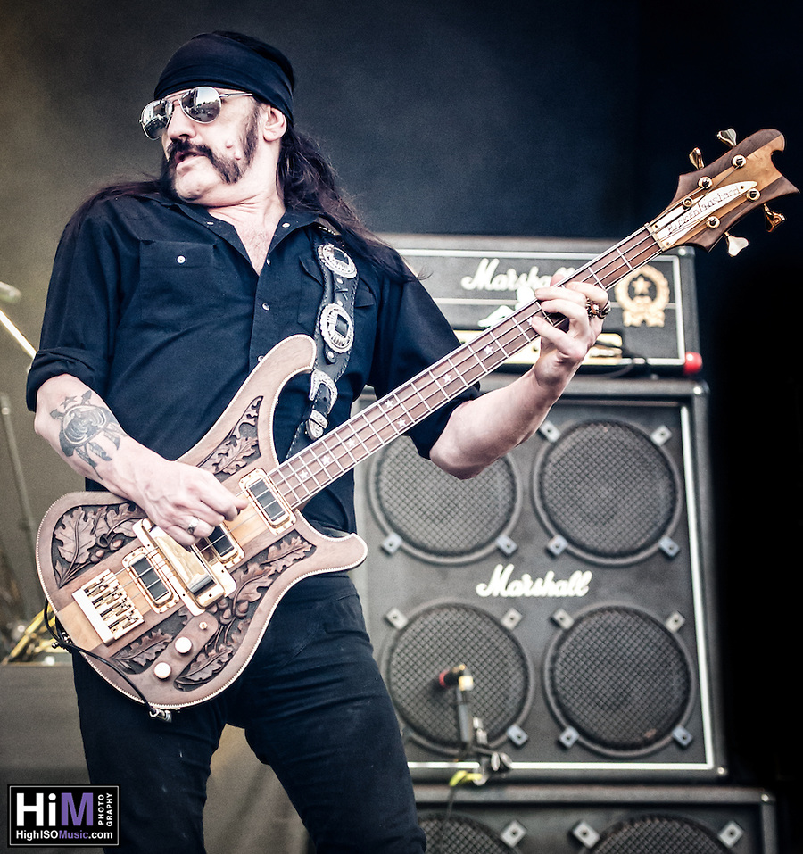 Motorhead performing at Heavy MTL 2011 in Montreal, QC. (Golden G. Richard III)