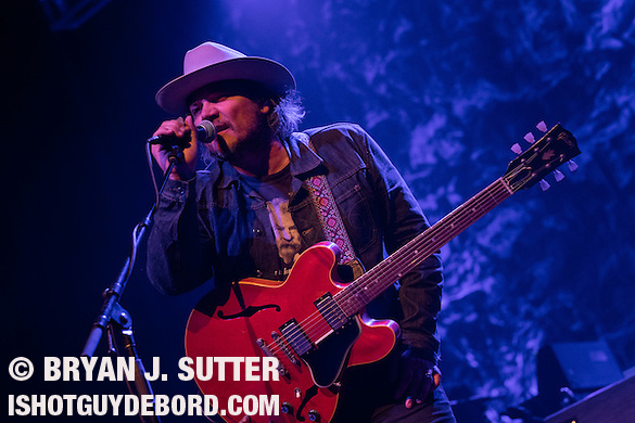 Alt-country trail blazers Wilco returned to Saint Louis, Missouri on May 4th, 2015 at The Pageant to a sold out show in the neighborhood where the band played its first shows 20 years ago. (Bryan J. Sutter)